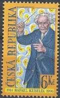 1998 Rép TCHEQUE 184** Kubelik, Chef D' Orchestre, Musique, Issu De Série - Tchéquie