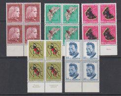 Switzerland 1953 Pro Juventute 5v Bl Of 4 ** Mnh (42213E) - Pro Juventute