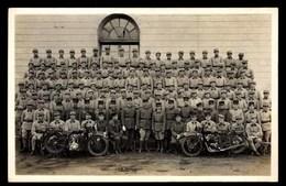 MOTOS, Soldats, CARTE PHOTO - Motos