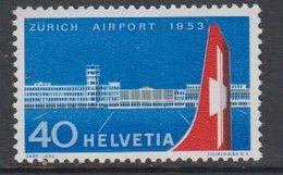Switzerland 1953 Zurich Airport 1v ** Mnh (42214) - Zwitserland