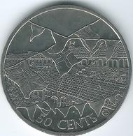 Cook Islands - 2002 - Elizabeth II - 50 Cents - Coronation Jubilee - KM1116 - Cook
