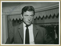 Robert Lamoureux (1920-2011) - Grande Photo Signée - Collection Pierre Goulliard - Autographes