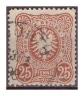 DR:  (1880)  Nr. 43a, Gestempelt - Deutschland