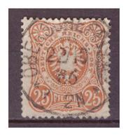 DR:  (1886)  Nr. 43ba, Gestempelt - Allemagne