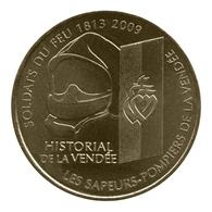 Monnaie De Paris , 2010 , Les Lucs Sur Bourgogne , Historial , Soldats Du Feu 1813-2009 - Monnaie De Paris