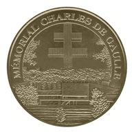 Monnaie De Paris , 2010 , Colombey Les Deux Eglises , Mémorial Charles De Gaulle - Monnaie De Paris