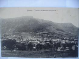 48 Mende Vue De La Ville Et Du Mont Mimat - Mende