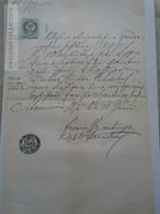 ZA185.8  Old Document Slovakia  1875 - Naissance & Baptême