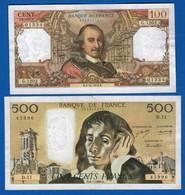 2  Billets  Dans  L'etat - 1962-1997 ''Francs''