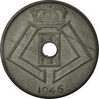 Monnaie, Belgique, 25 Centimes, 1946, TTB, Zinc, KM:131 - 1945-1951: Régence