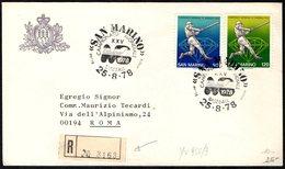 SAN MARINO 1978 - XXV CAMPIONATO MONDIALE BASEBALL - RACCOMANDATA - Baseball