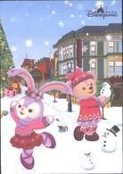 Mailed Postcard Disneyland 2018, New Year From Hong Kong - Souvenir De...