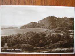 Hills Near Folkestone, Kent - RP - Posted 1937 - Folkestone