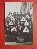 CPA ALLEMAGNE CARTE PHOTO RELIGIEUSES 1914/18 SENNHEIM PHOTO DE GROUPE - Allemagne
