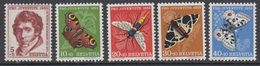 Switzerland 1955 Pro Juventute 5v ** Mnh (42217D) - Pro Juventute