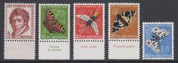 Switzerland 1955 Pro Juventute 5v (partly With Margin)  ** Mnh (42217E) - Pro Juventute