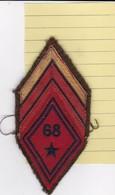 T 2)  Écusson Tissu Militaire Ou Autre (Format  ) - Ecussons Tissu