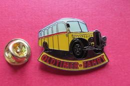Pin's,Car,Bus,PTT,SAURER, Oldtimer Fahrt,Postauto,Suisse, - Transports