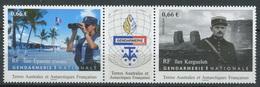 TAAF 2014 - N° 718 & 719 - Gendarmerie Nationale - Iles Eparses & Kerguelen - Neuf -** - Nuevos