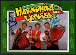 C3639 - Orig. Harmonika Express -  Autogramm Autogrammkarte Autograph - Autographs