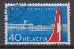 Switzerland 1953 Zurich Airport 1v Used (42214H) - Zwitserland