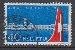 Switzerland 1953 Zurich Airport 1v Used (42214I) - Zwitserland