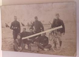 1914 Ardennes 91 Eme Régiment D'infanterie Cycliste Molletières Lebel Vélo Tambour Poilus Tranchées 1914 1918 WW1 1cph - War, Military