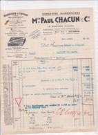 29-Paul Chacun Conserves Alimentaires, Sardines & Thons.. Le Guilvinec..(Finistère)..1942 - Food