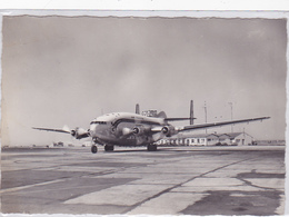 "Cpa -aviation-air France-breguet Deux Ponts ""provence""a Marseille Marignane - 1946-....: Ere Moderne"