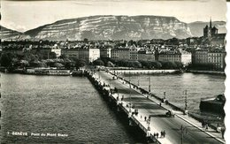 007387  Genève - Pont Du Mont Blanc  1952 - GE Genf