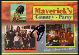 C3648 - TOP Orig. New Mavericks Band -  Autogramm Autogrammkarte Autograph - Country - Autographes