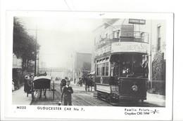 21678 - London Gloucester Car N° 7 Pamlin Prints Croydon - London
