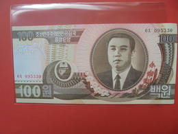 COREE(NORD) 100 WON 1992 PEU CIRCULER/NEUF - Corée Du Nord