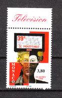 Monaco - 1999. Trasmissioni Della Televisione Montecarlo. Montecarlo Television Broadcasts. MNH - Telecom