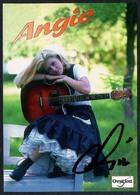 C3653 - TOP Orig. Angie -  Autogramm Autogrammkarte Autograph - Country - Autographes