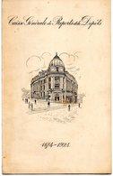 Menu  Et Programme De Concert  Caisse Générale De Reports Et De Dépots  1874-1924 - Menus