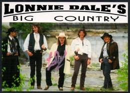 C3654 - TOP Orig. Lonnie Dale`s Big Country -  Autogramm Autogrammkarte Autograph - Country - Autogramme & Autographen