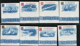 1962 Sport Acquatici, Serie Romania, Serie Completa Nuova (**) Non Dentellata - Francobolli