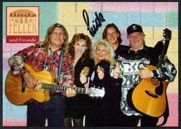 C3655 - TOP Orig. Linda Feller Und Freunde -  Autogramm Autogrammkarte Autograph - Country - Autogramme & Autographen