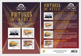 Frankrijk / France - Postfris / MNH - Sheet Stijlvolle Auto's 2019 - Frankrijk
