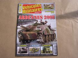 VEHICULES MILITAIRES Magazine N° 25 Guerre 40 45 Ardennes 44 Char Brummbär Moto 750 Terrot Vatt Camion Renault 6 Ton - Guerre 1939-45