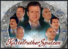 C3659 - TOP Orig. Kastelruther Spatzen -  Autogramm Autogrammkarte Autograph - Autogramme & Autographen