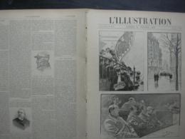 L'ILLUSTRATION 2868 PROCES EMILE ZOLA/ MISSION MARCHAND/ PONT ALEXANDRE III - Journaux - Quotidiens