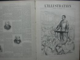 L'ILLUSTRATION 2869 PROCES EMILE ZOLA/ MISSION MARCHAND/ SOUTERRAIN PASSY / CARNAVAL NICE / AMERIGO VESPUCCI - Journaux - Quotidiens
