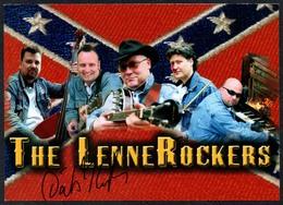 C3660 - TOP Orig. The Lenne Rockers -  Autogramm Autogrammkarte Autograph - Autographes
