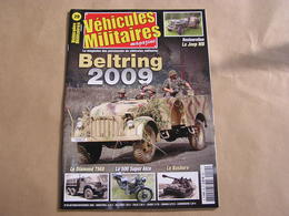 VEHICULES MILITAIRES Magazine N° 29 Guerre 40 45 Char Klimenty Nashorn Moto Guzzi Camion Diamond Willys Voiture Du Bled - Guerre 1939-45