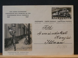 83/783  CP    SUISSE 1947 - Entiers Postaux
