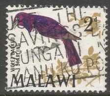 Malawi 1968 Birds. 2d Used. SG 311 - Malawi (1964-...)