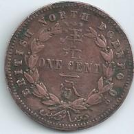MONNAIES BRITISH NORTH BORNEO One Cent 1882 Diametre 30 Mm N050 - 1816-1901 : Frappes XIX° S.