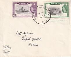 NIGERIA 1959 LETTRE - Nigeria (...-1960)